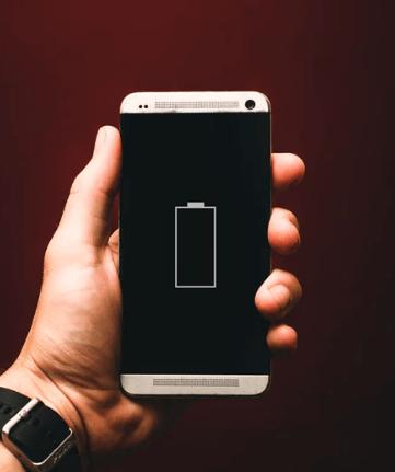 batteri og levetid smartphone